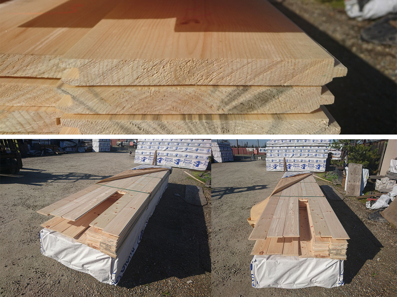 Wood Siding Tongue Groove Pine Cedar Cement T1 11